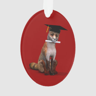 Smartest Fox In Town Ornament