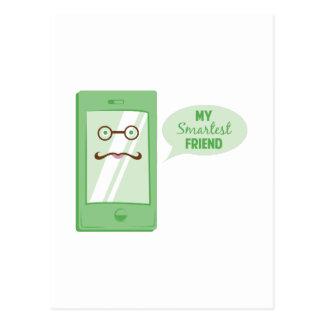 Smartest Friend Post Card