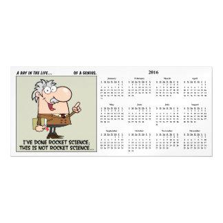 Smartest Person at Work 2016 Calendar Magnetic Card