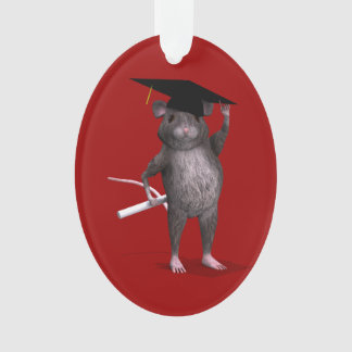 Smartest Rat In Town Ornament