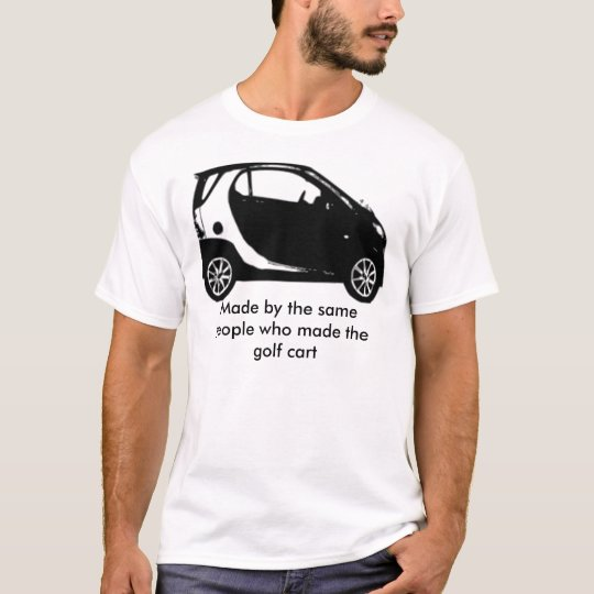 SmartGolfCart, made by the same people T-Shirt