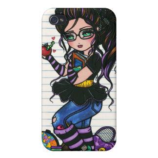 Smartie jadea a la colegiala del empollón de Hanna iPhone 4/4S Carcasas