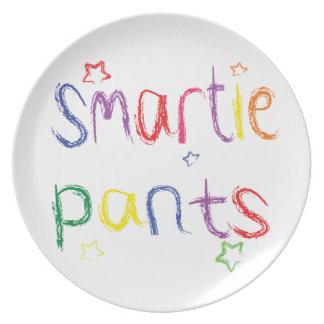 Smartie Pants fun congratulations Melamine Plate