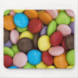 smarties background mouse mat mouse pad