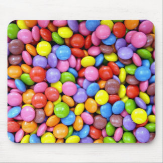Smarties Background Mouse Pad