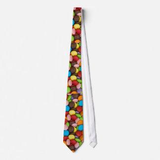 smarties background novelty tie