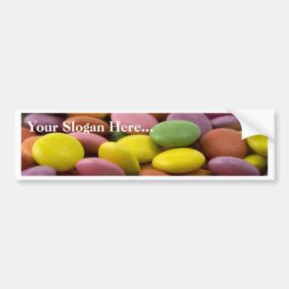 Smarties Bumper Sticker