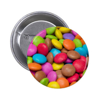 Smarties Candy background Button