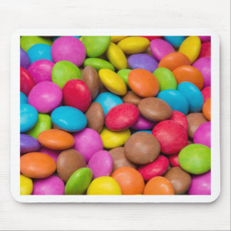 Smarties Candy background Mouse Pad