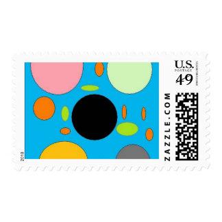 smarties postage stamp