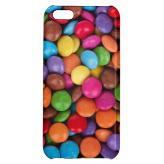 Smarties Red, blue, green and brown colored candy Case For iPhone 5C
