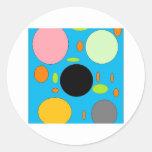 smarties round sticker