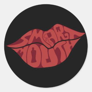 Smartmouth Etiqueta Redonda