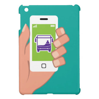 Smartphone application Bus service Online iPad Mini Cover