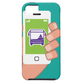 Smartphone application Bus service Online iPhone SE/5/5s Case