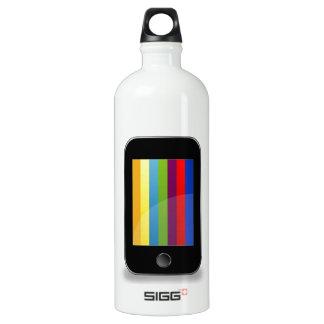 Smartphone con la pantalla colorida