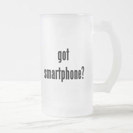 ¿smartphone conseguido? taza cristal mate