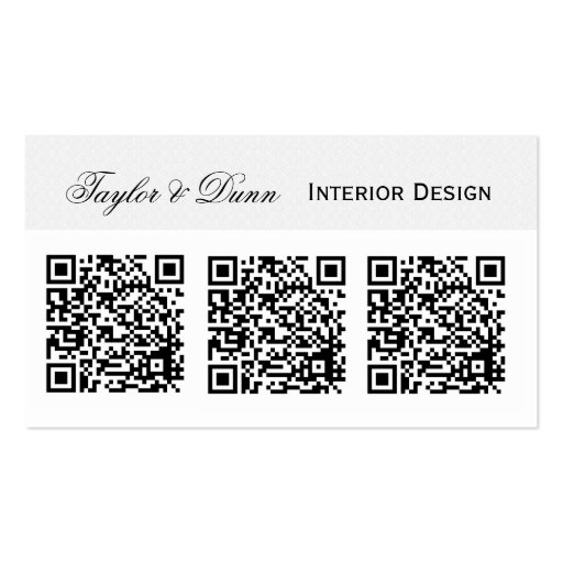 Smartphone QR Code   Photo or Logo Business Card Template