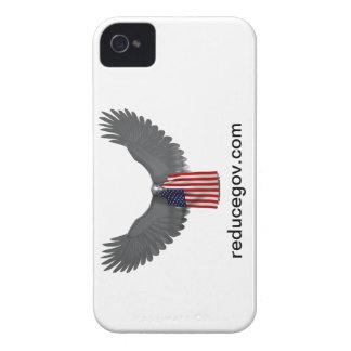 Smartphone Reducegov cover on white horizontal