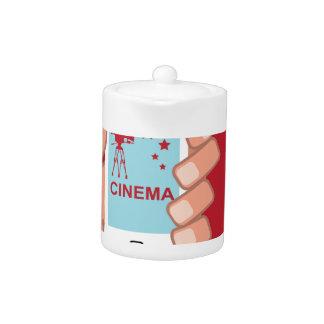 Smartphone vector Cinema App Teapot