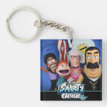 Smarty Cartoons puppet key chain