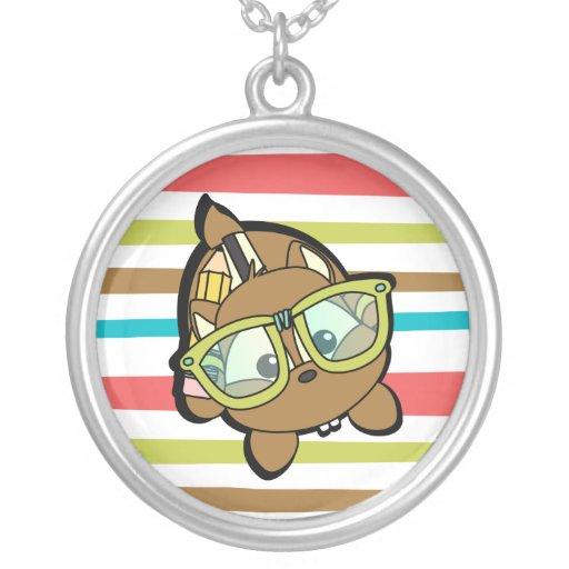 Smarty Chimpunk Personalized Necklace