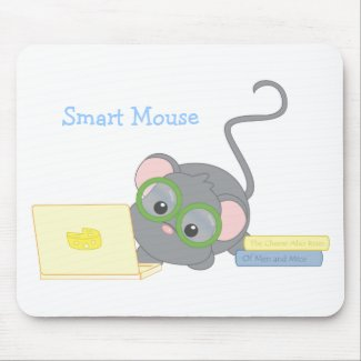 Smarty Mouse mousepad