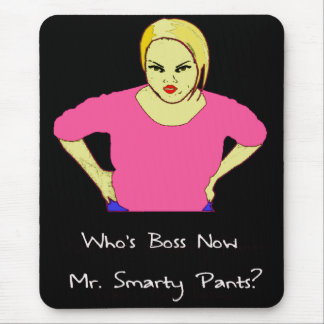 Smarty Mouse Pad