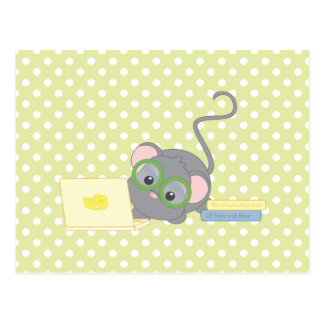 Smarty Mouse Postcard