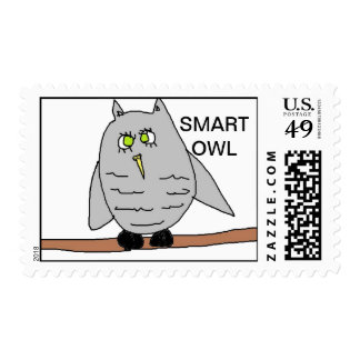 smarty Owl Stamps