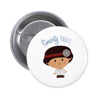 Smarty Pants 2 Inch Round Button