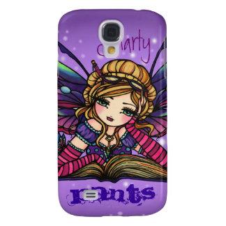 Smarty Pants Bookworm Librarian Fairy Fantasy Art Samsung S4 Case