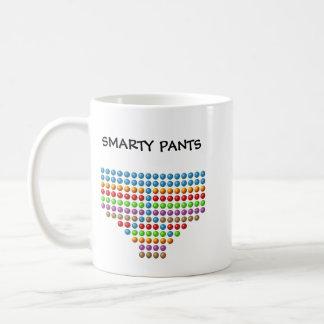 smarty pants coffee mug