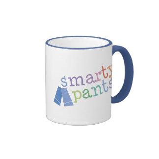 Smarty Pants Funny Ringer Mug