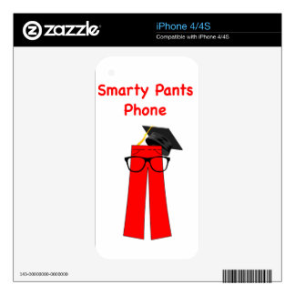 Smarty Pants Phone !!! Skins For The iPhone 4S
