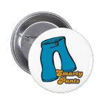 smarty pants pinback button