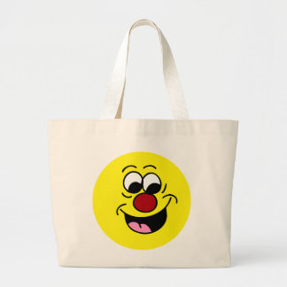 Smarty Pants Smiley Face Grumpey Tote Bag