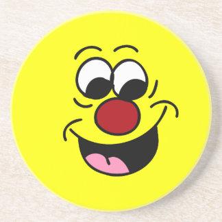 Smarty Pants Smiley Face Grumpey Coaster