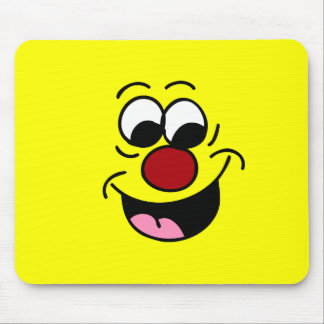 Smarty Pants Smiley Face Grumpey Mouse Pad