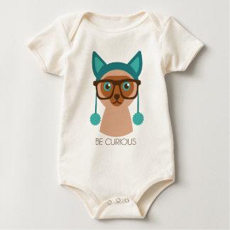 Smarty Smart Cat Baby Bodysuit