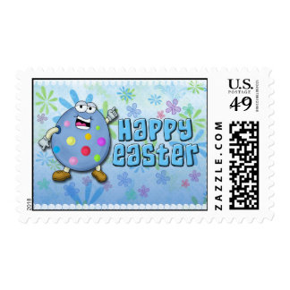 Smarty the Happy Easter Egg Stamp