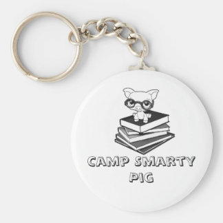 smartypig, Camp Smarty Pig Keychain