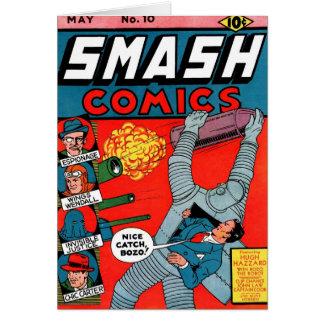 """""""Smash Comics #10"""" Card"""
