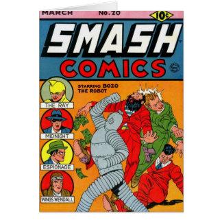 """""""Smash Comics #20"""" Card"""