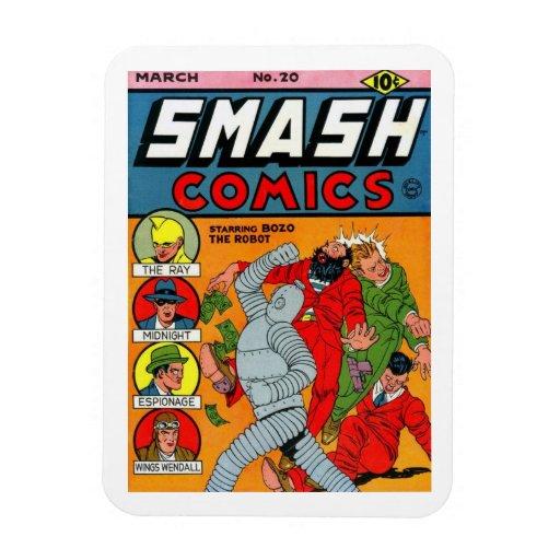 """Smash Comics #20"" Magnet"