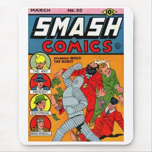 """Smash Comics #20"" Mousepad"