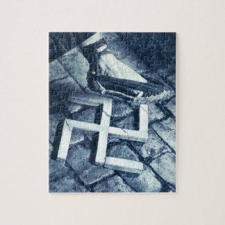 Smash Fascism_Propaganda Poster Jigsaw Puzzle