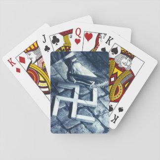 Smash Fascism_Propaganda Poster Playing Cards