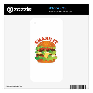 Smash It iPhone 4S Decal
