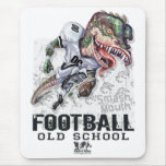 Smash Mouth Dinosaur Football Gear Mouse Pad